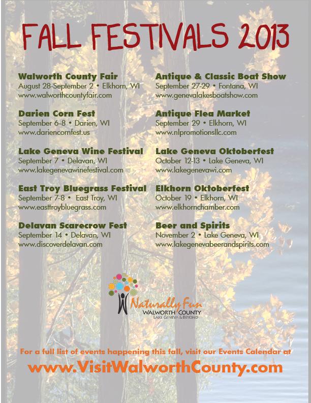 Fall Festivals 2013 2