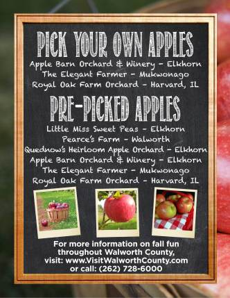 Fall In The Lake Geneva Area Apples Pumpkins Hayrides Galore