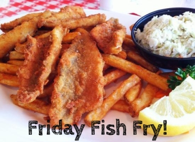 Fish fry fridays for Harbor house fish fry