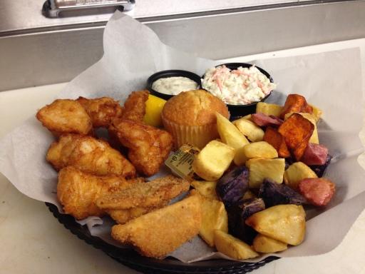 Fish fry - order up!  Lauderdale Landing, Elkhorn