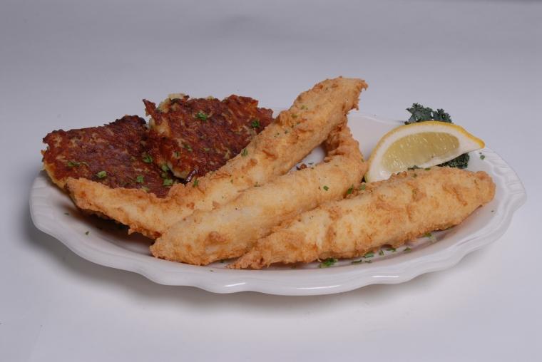 Popeyes fish fry