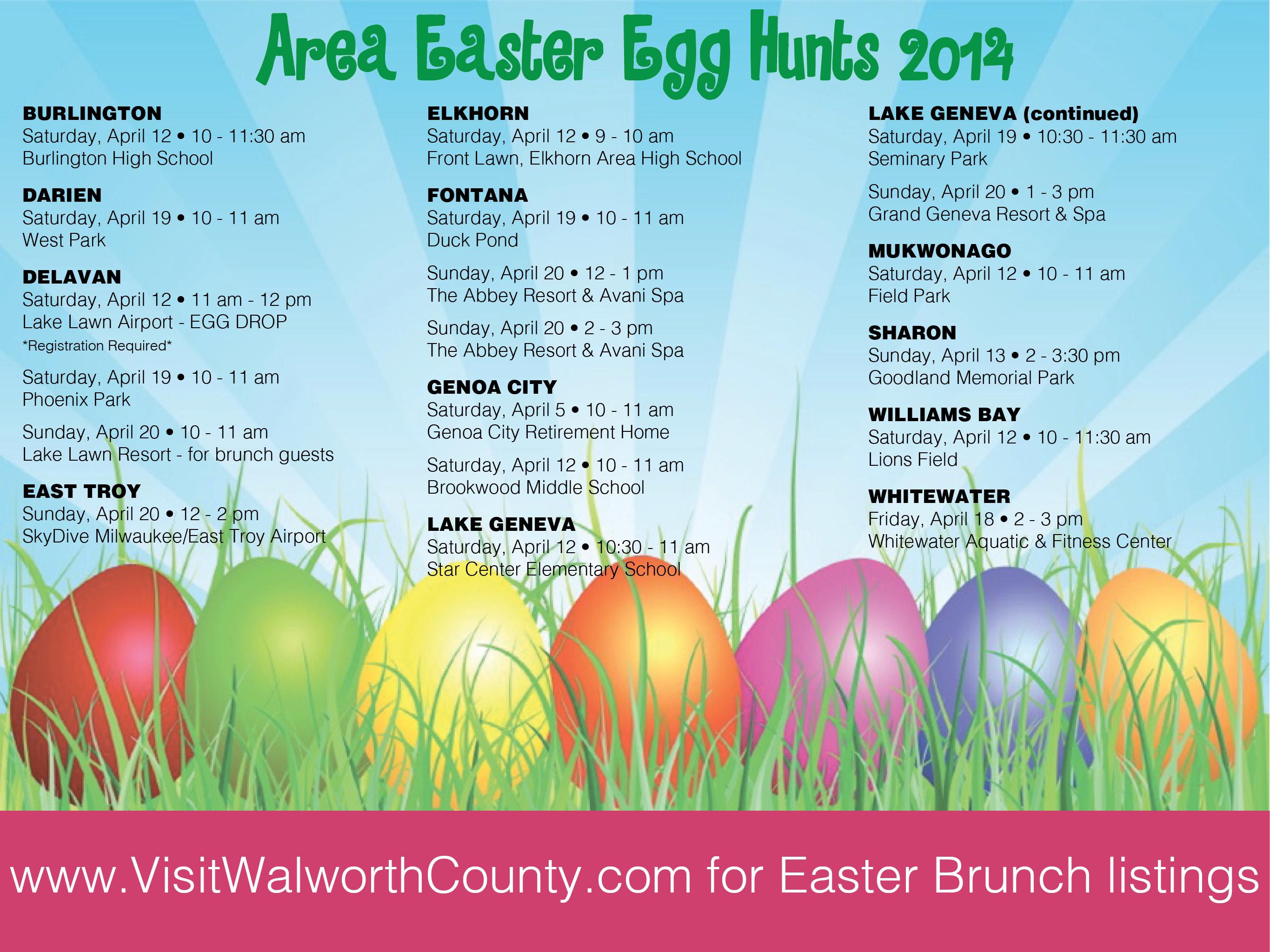 Easter egg hunt adults ideas