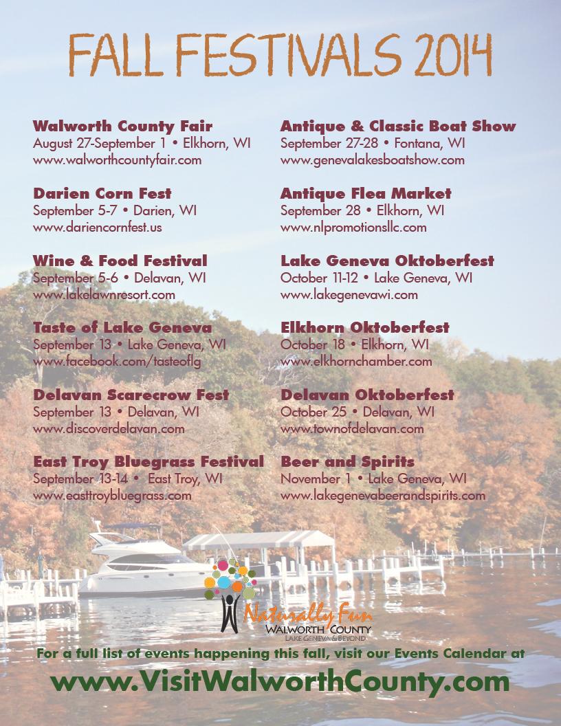 Fall Festivals 2014  sc 1 st  Walworth County Visitors Bureau - WordPress.com & fall festivals