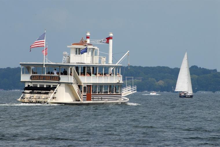LGACVB Lady of the Lake Paddleboat