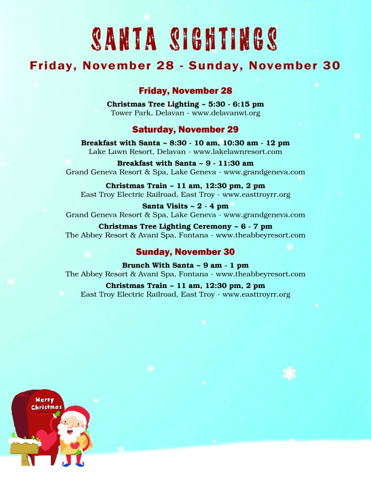 SantaSightings Nov28-30