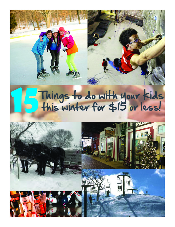 15 things winter graphic