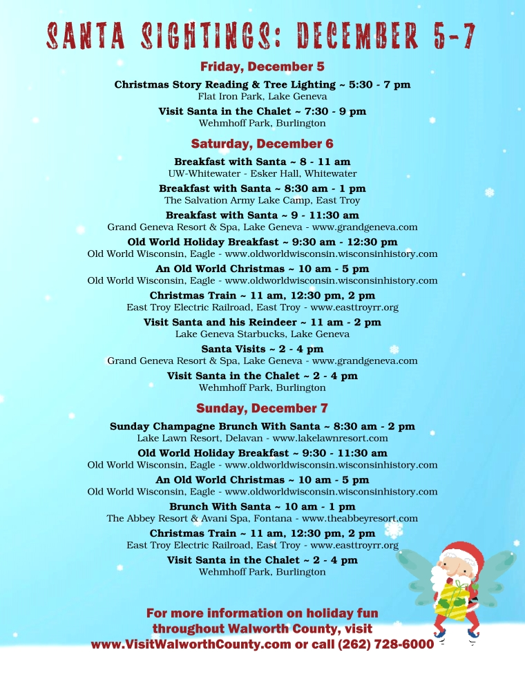 SantaSightings Dec5-7
