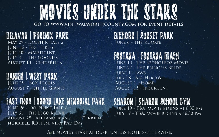 Movies Under The Stars 2015