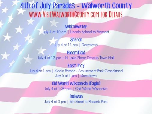 2015 July 4 Parades