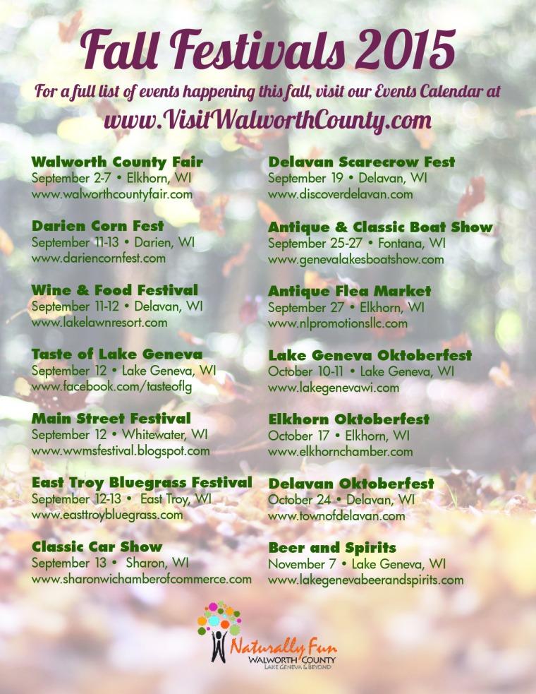 Fall Festivals 2015