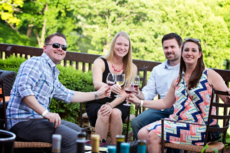 Grand Geneva's Night on the Vine event featuring wines from across the globe.