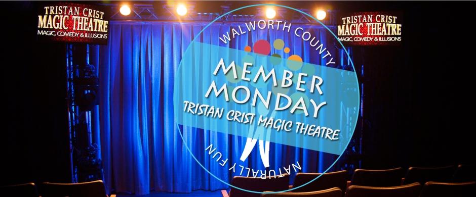 Tristan Crist Magic Theatre in Lake Geneva, WI - Walworth County