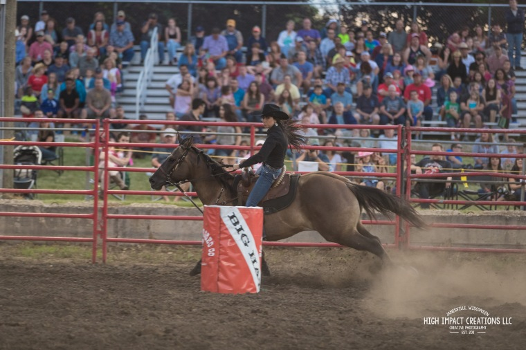 Great Midwest Pro Rodeo at the Walworth County Fairgrounds in Elkhorn, WI.