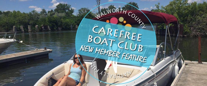 New to the Lake Geneva area: Carefree Boat Club. Boating without owning.