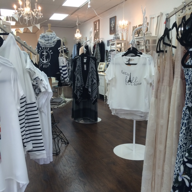Shop Tres Belle Boutique in downtown Lake Genea, Walworth County, WI