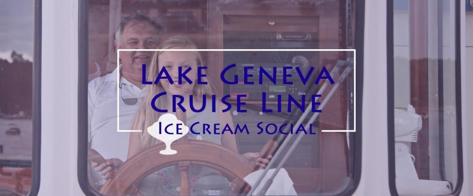 Lake Geneva Cruise Line Ice Cream Social, Lake Geneva, Walworth County, WI