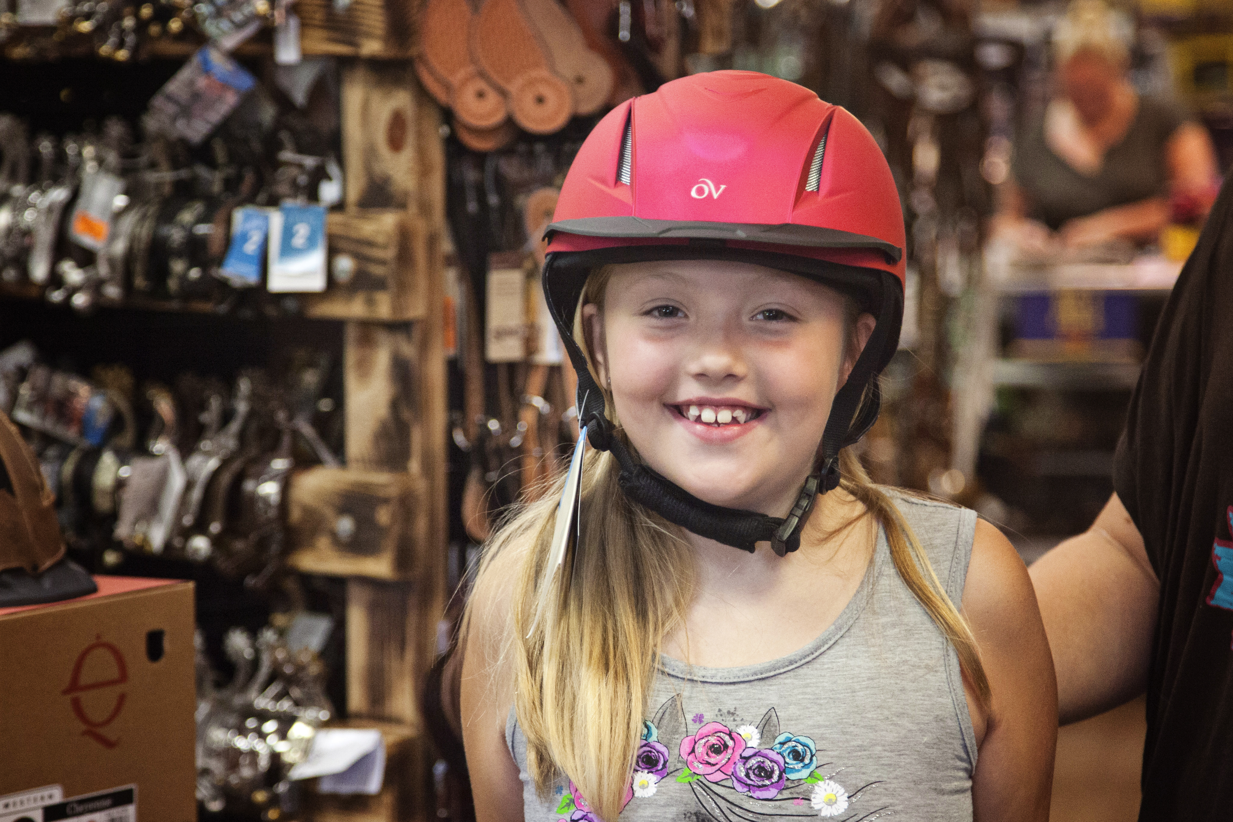 Helmet fitting at West 20 Saddle Co. in East Troy Walworth County WI  sc 1 st  Walworth County Visitors Bureau - WordPress.com & East Troy