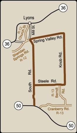 Rustic Road 11 map