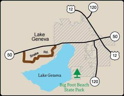 Rustic Road 29 map