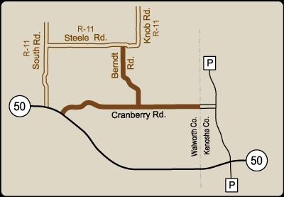 Rustic Road 36 map