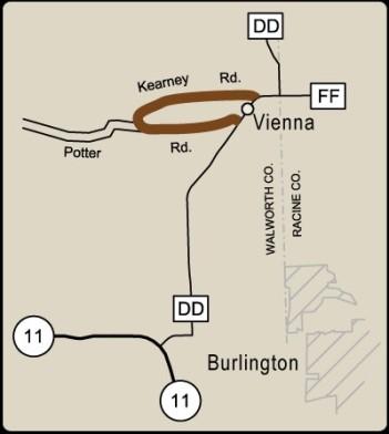 Rustic Road 85 map