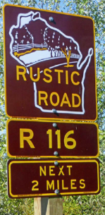 Rustic Road sign