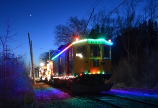 ETERR Christmas train