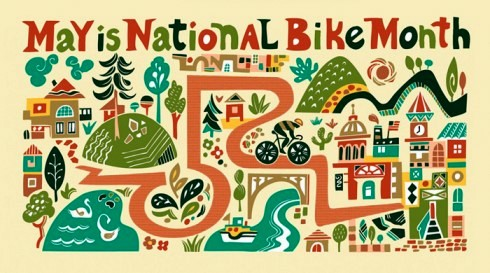 national-bike-month-artwork-by-illustrator-carolyn-vibbert