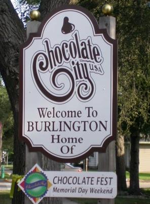 ChocolateFest - Chocolate City sign