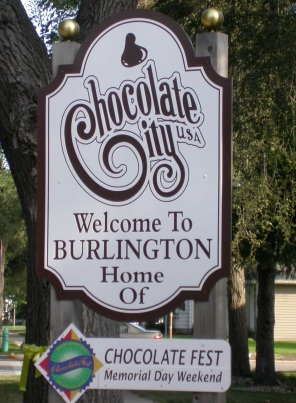 ChocolateFest - Chocolate City sign