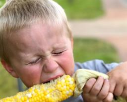 Corn cob kid