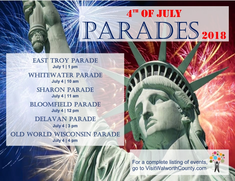 4th of July Parades 2018