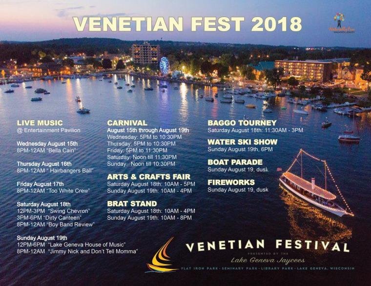 Venetian Fest 2018