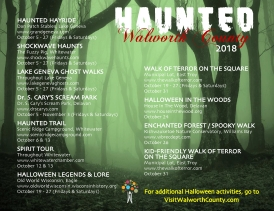 Haunted Walworth County 2018