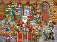 Santa In His Workshop