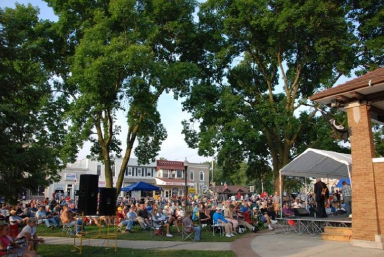 ET village square - bluegrass festival